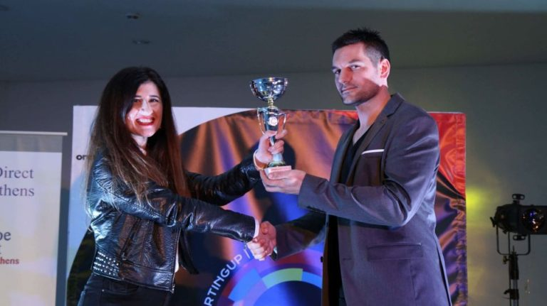 """Grekaddict Receives First Place at """"Get in the Ring StartingUP Athens"""" Competition"""