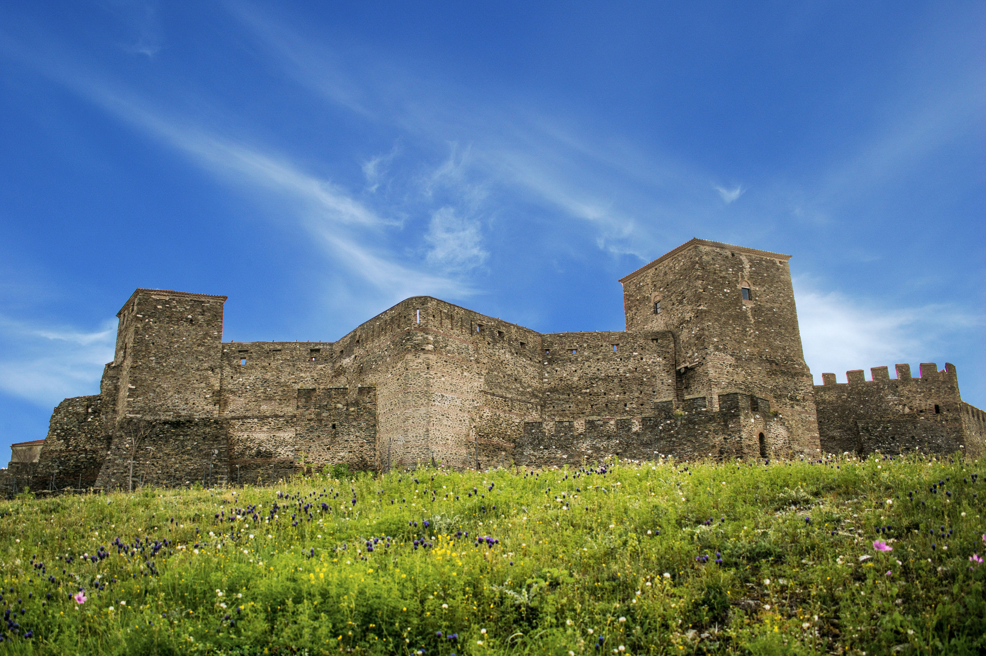 Heptapyrgion Ottoman fortress found in Thessaloniki, Greece.