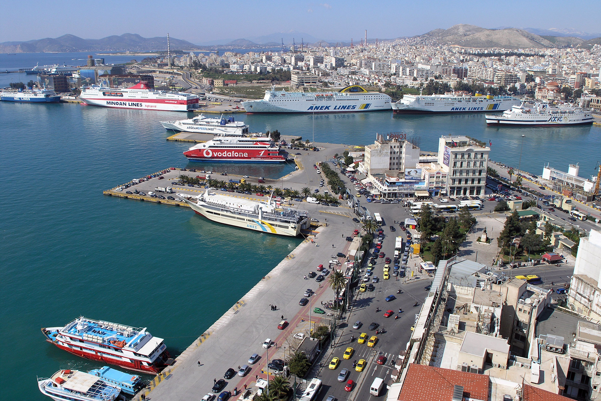 The Port of Piraeus