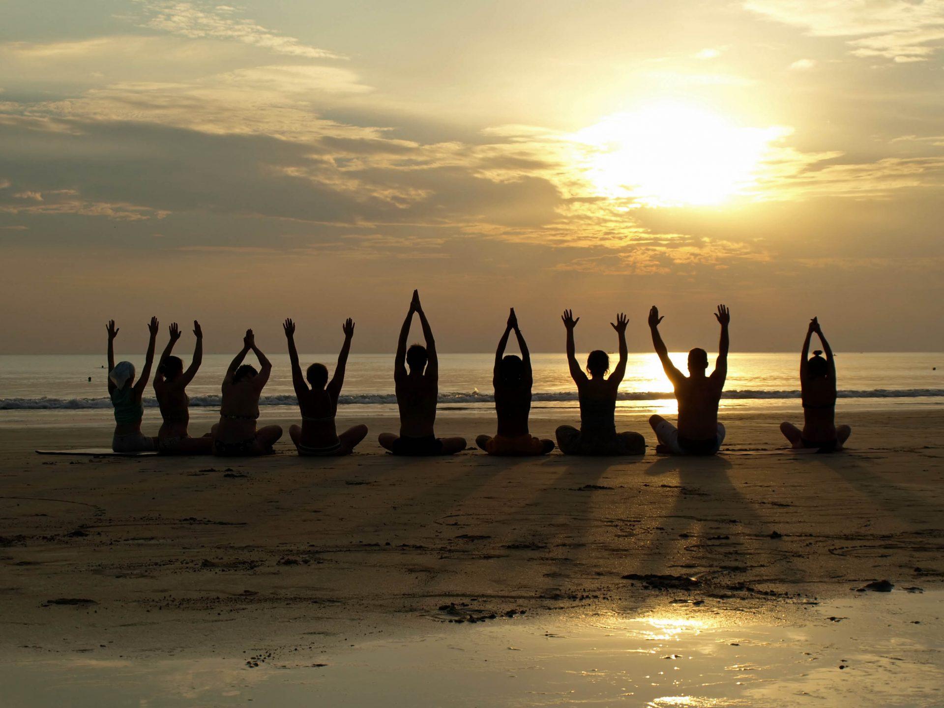 Yoga in Chalkidiki