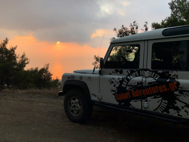 Chania Sunset Safari Tour