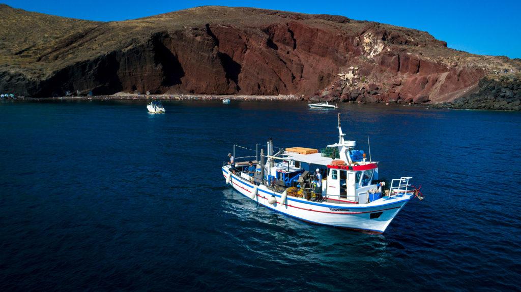 Morning Fishing Tour in Santorini