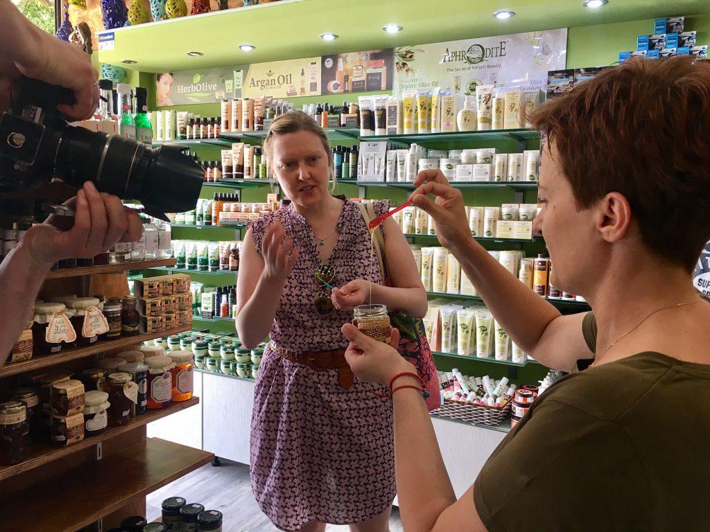 Shopping Tour Made in Heraklion