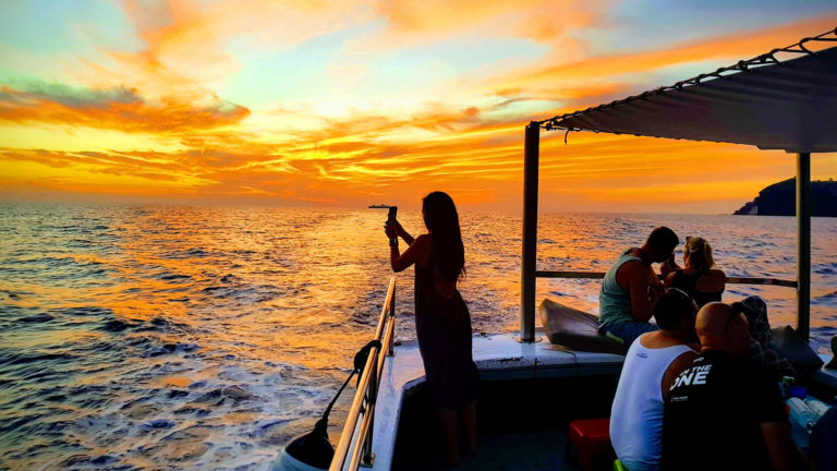Sunset Fishing Tour in Santorini