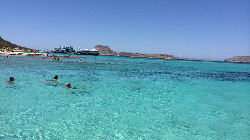 Trip to Balos and Gramvousa - Crystal waters