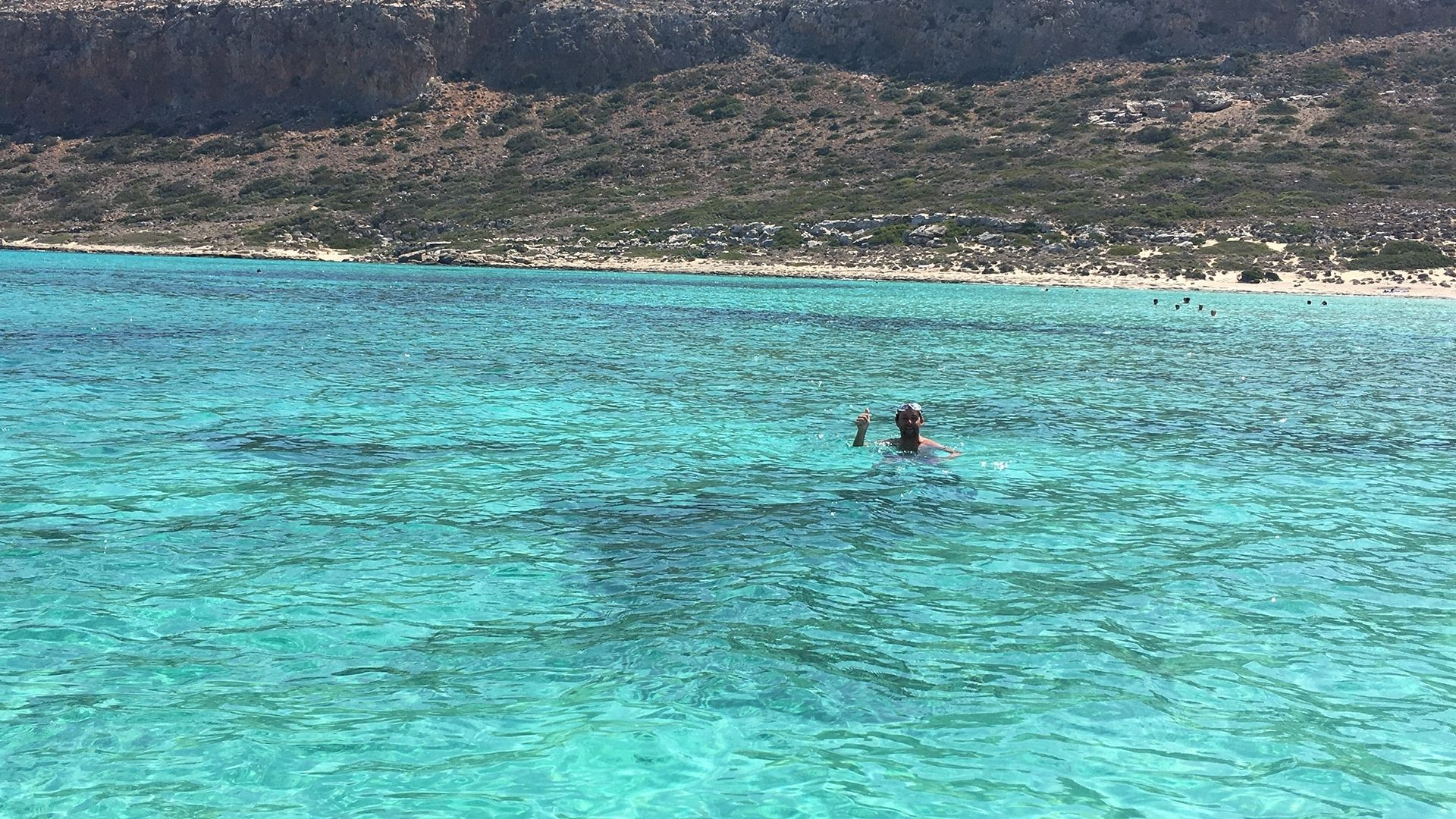 Trip to Balos and Gramvousa - Waters