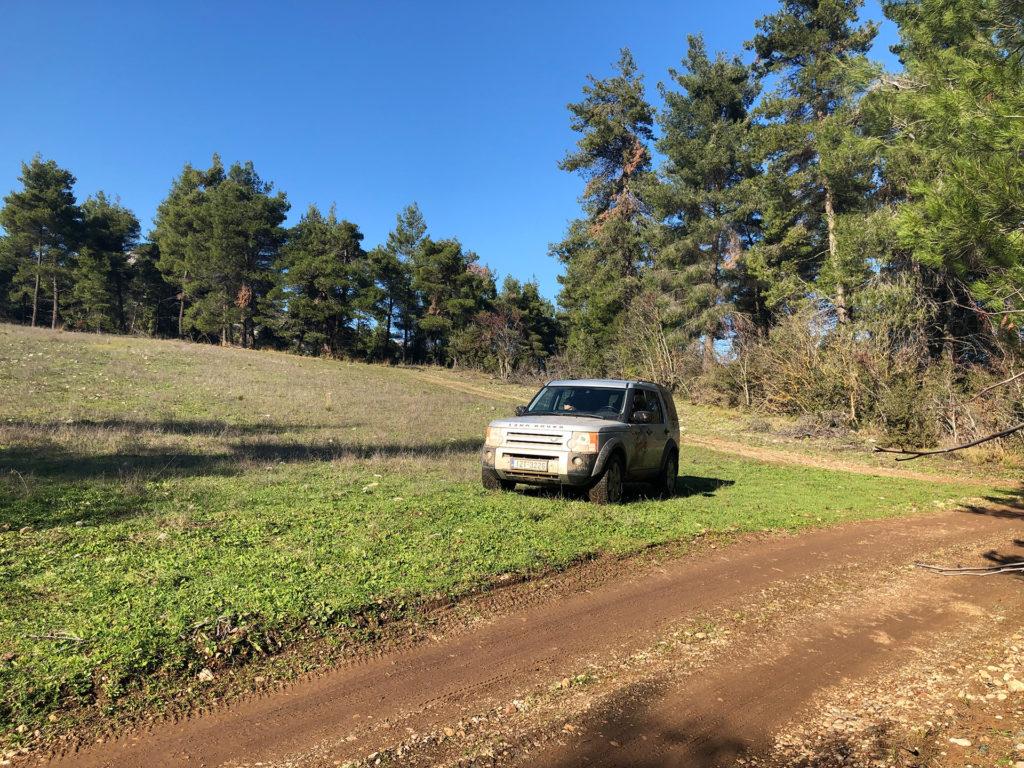 Athens Jeep Tour in Parnitha Mountain Park