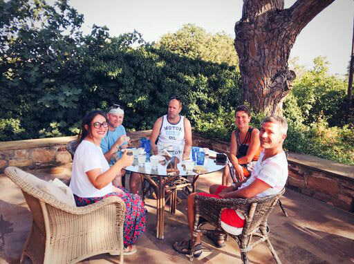 Kampos Food Tour in Chios