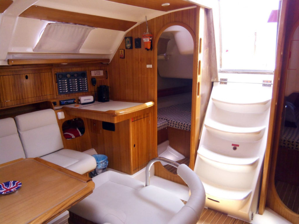 Yacht Around Lefkada