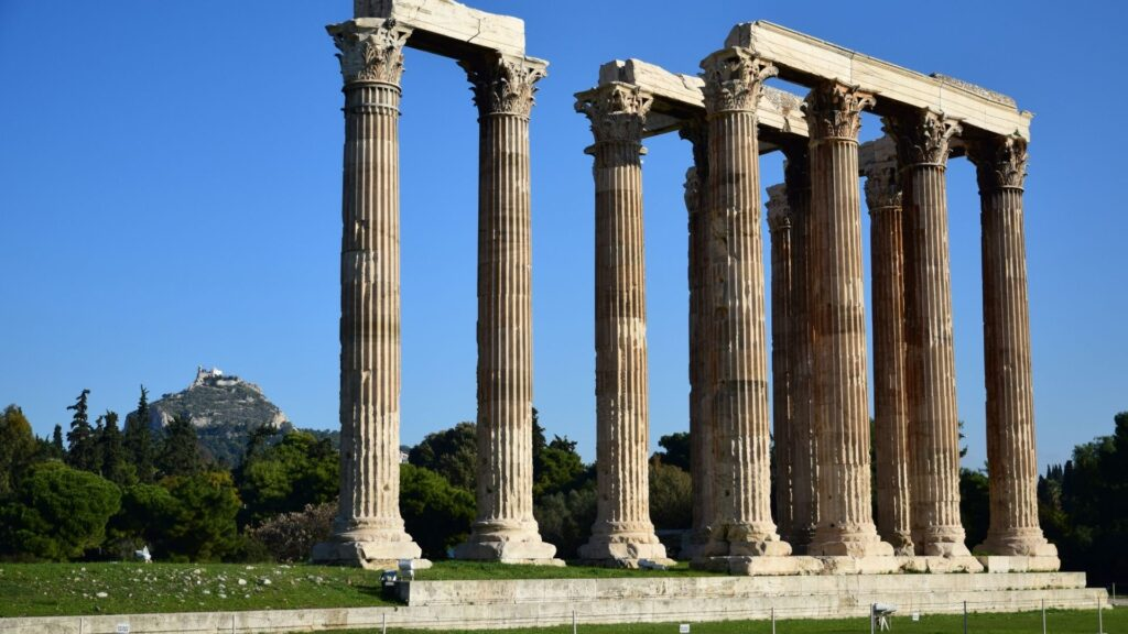 Acropolis tour- temple of Zeus