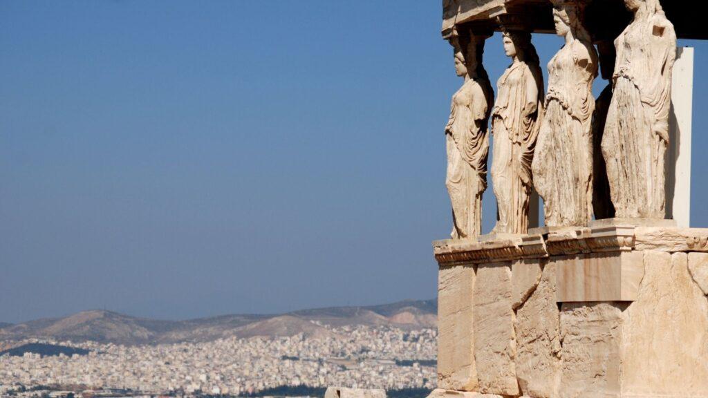 Acropolis Tour - Athens view