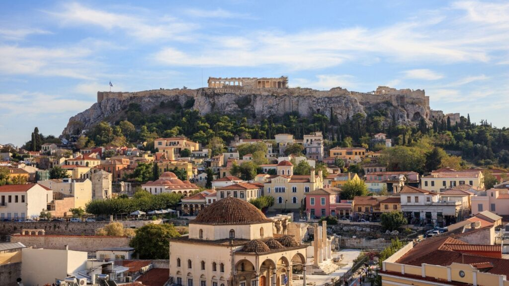 Acropolis Tour - city