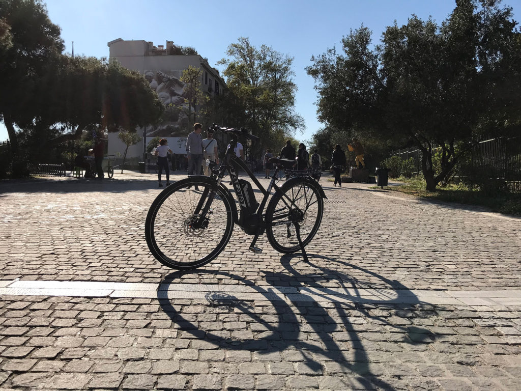 Athens Historical Center e-bike Tour