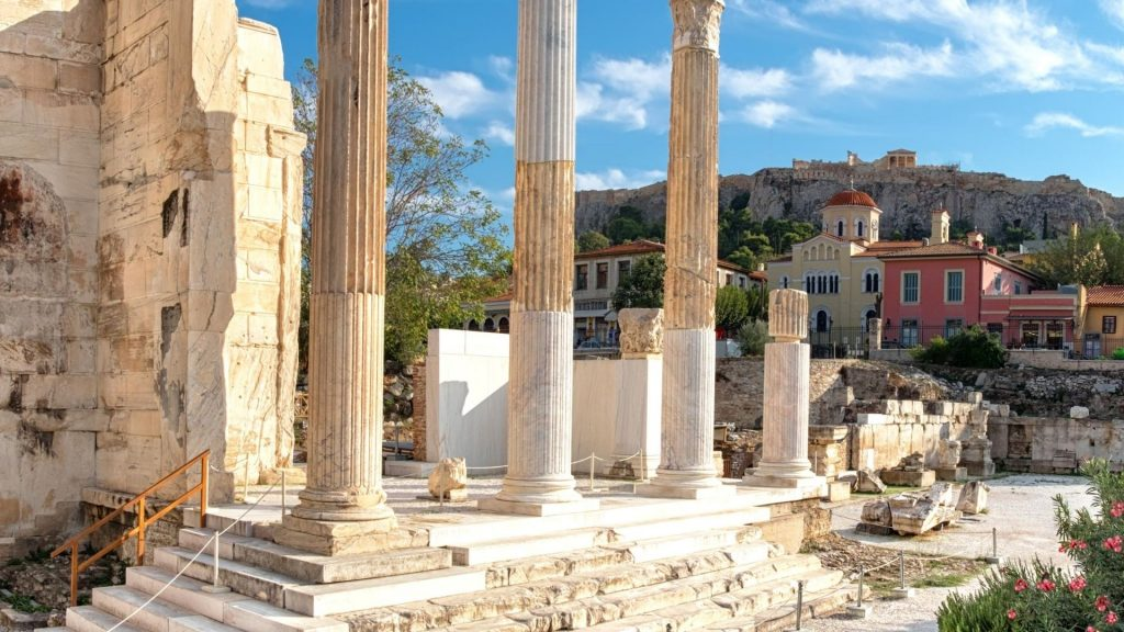Plaka athens historical walking tour grekaddict
