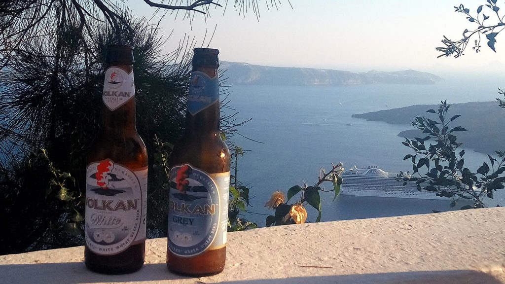 Brewery and Winery Tour in Santorini