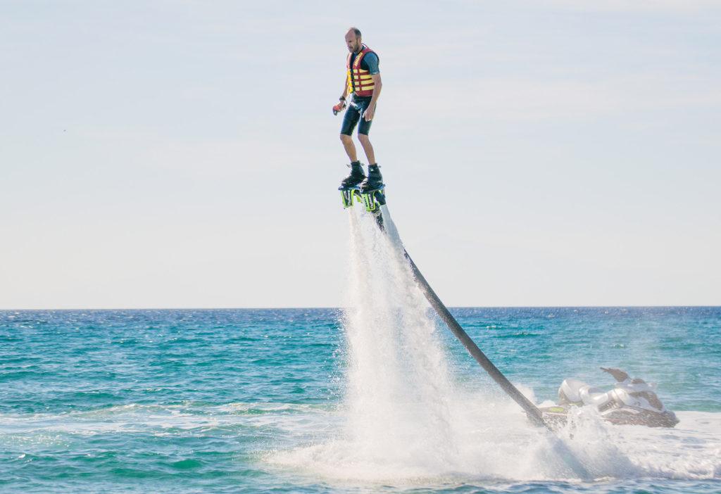 Flyboard in Sarti
