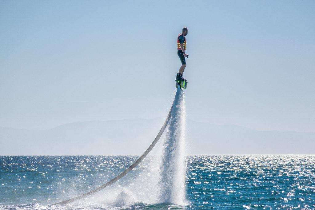 Flyboard in Nea Skioni