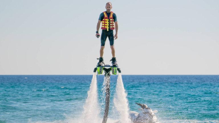 Flyboard στη Σάρτη της Χαλκιδικής