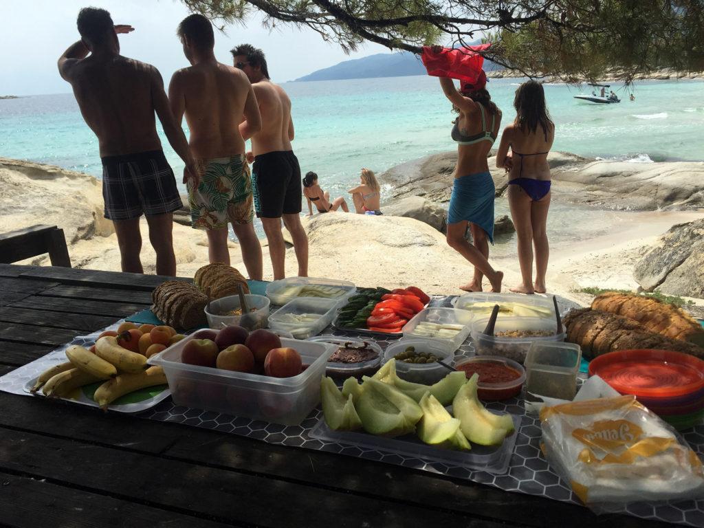 Half Day Sea Kayak Trip in Halkidiki