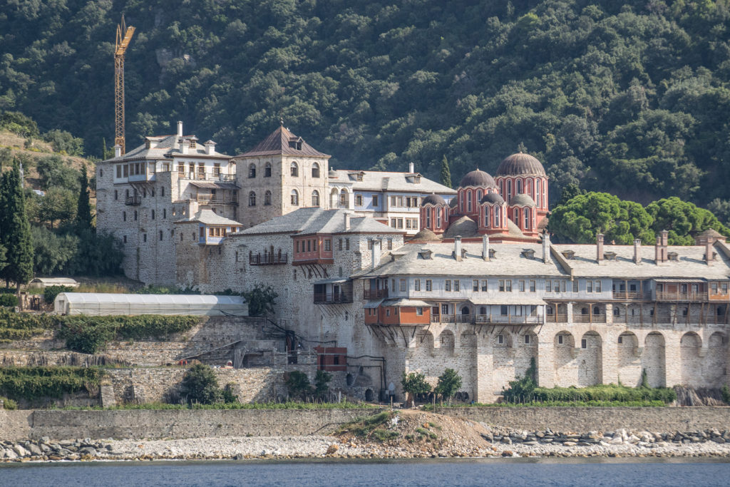 Mix Cruise Mount Athos and Blue Lagoon in Halkidiki