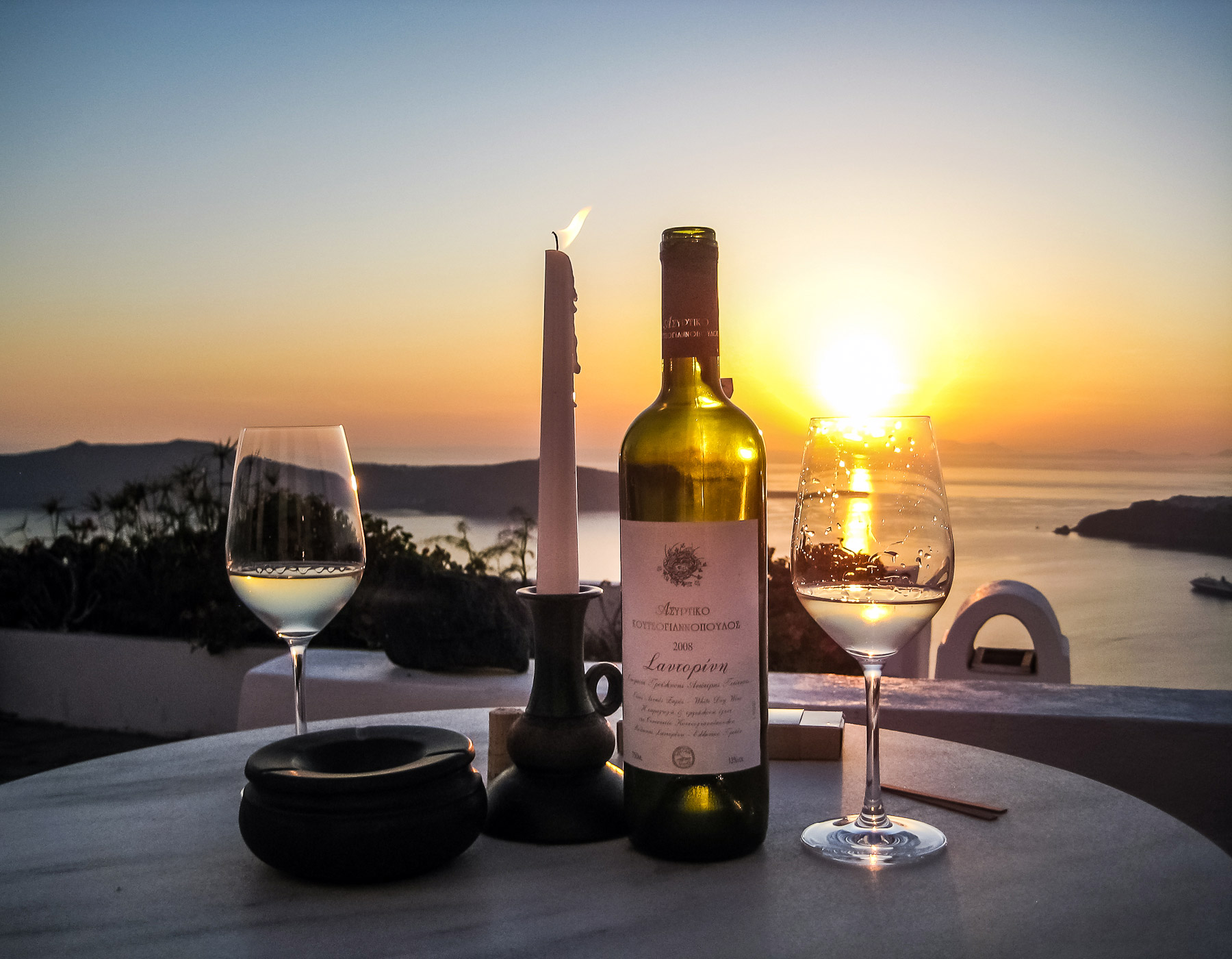 Sightseeing and Cooking Class in Santorini