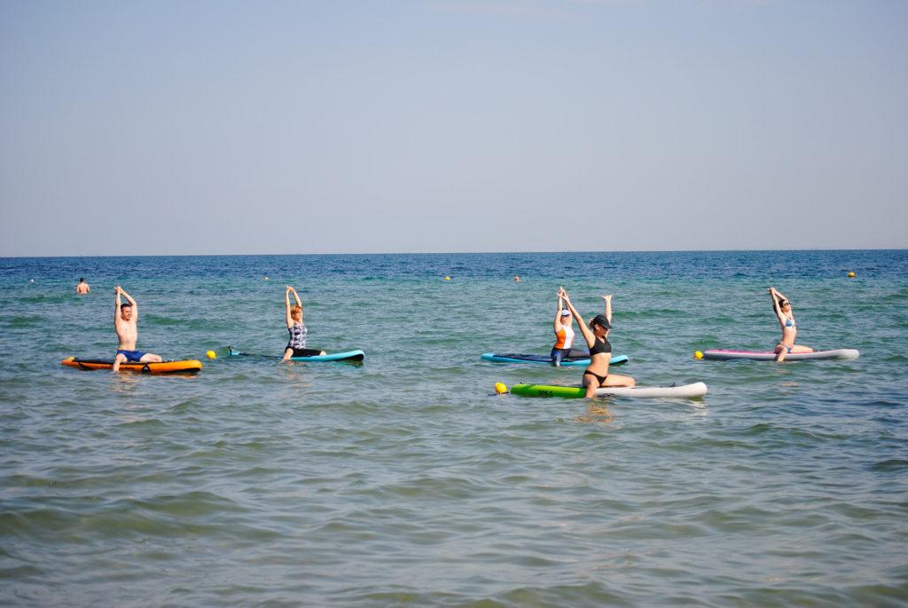 SUP Yoga in Thessaloniki