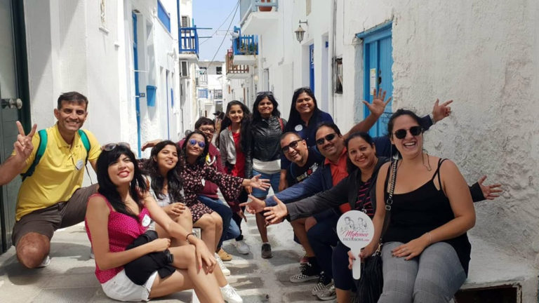 Walking Tour of Mykonos Town