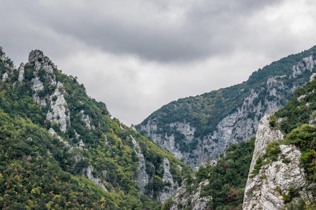 Mount Olympus trekking - mountain view