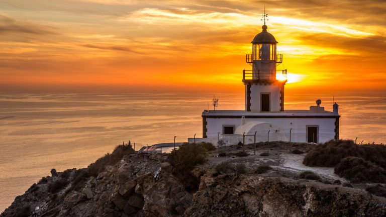 Armenistis Lighthouse Visit at Mykonos