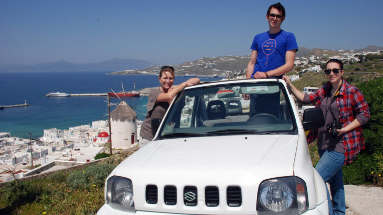 Jeep Safari at Mykonos