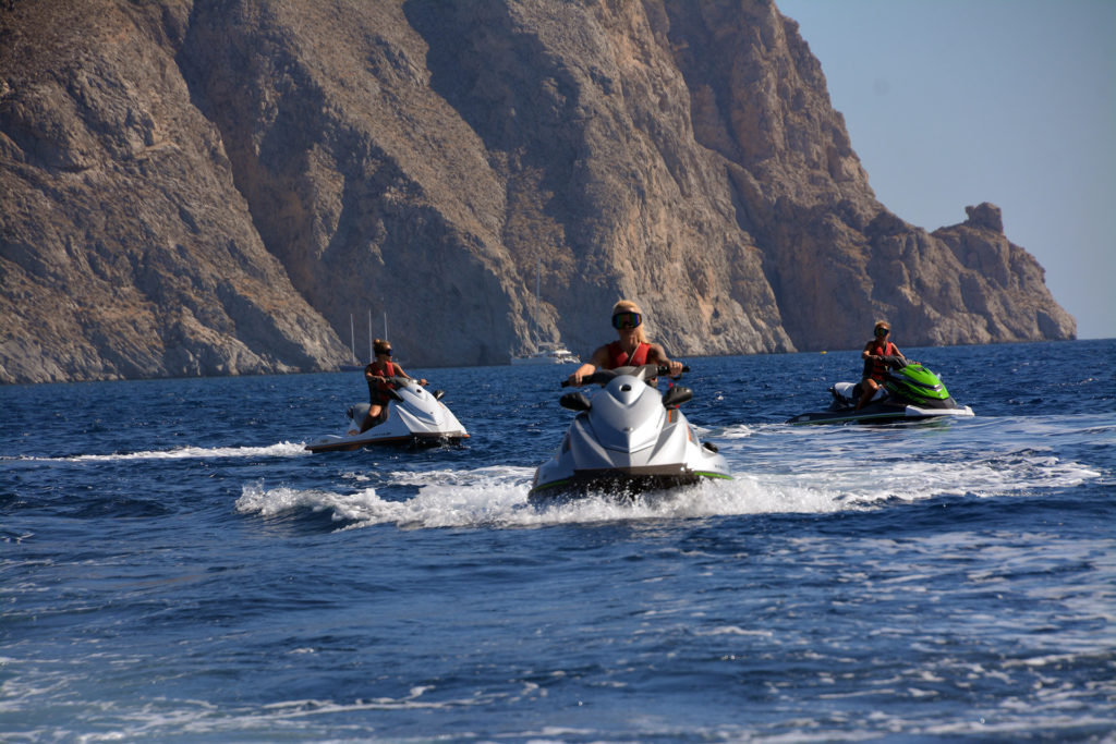 Jet Ski Safari at Santorini