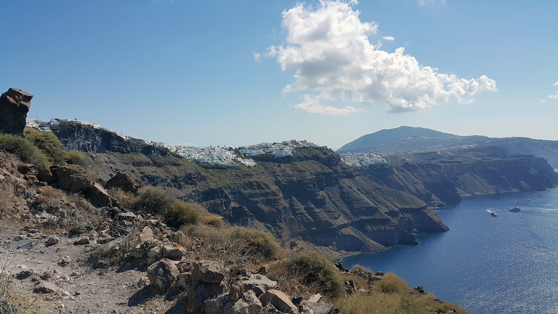 Santorini Caldera Hiking Tour