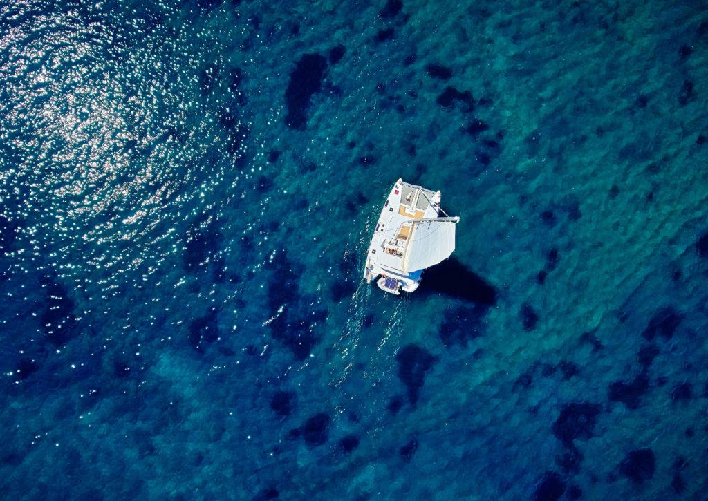 Semi Private Catamaran Cruise in Santorini