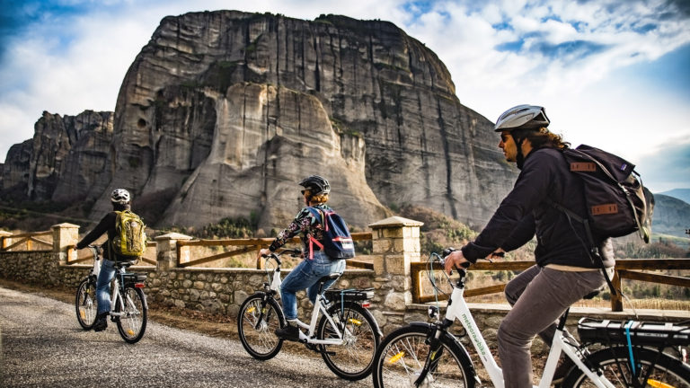 Sunset E-Bike Tour in Meteora