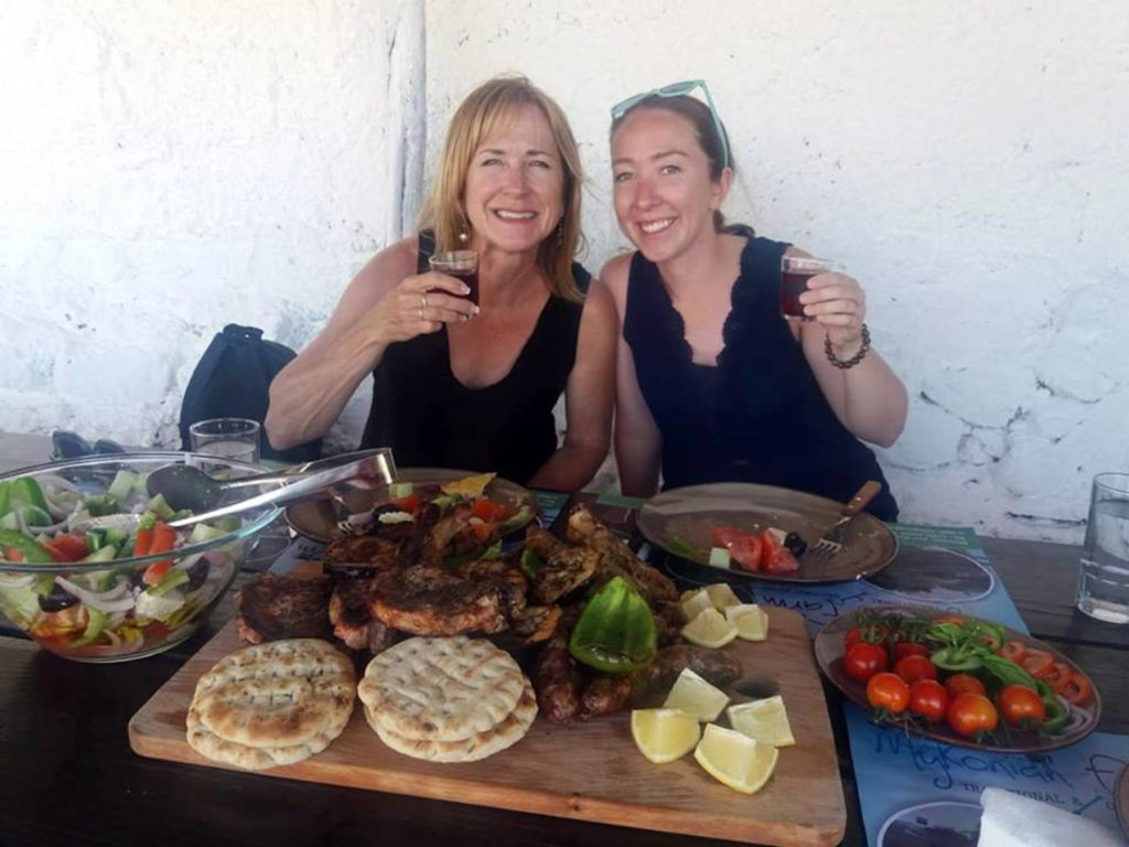 Traditional Lunch or Dinner at Mykonos