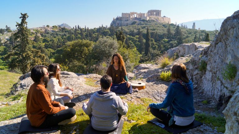 Ancient Greek Meditation and Vegan Brunch