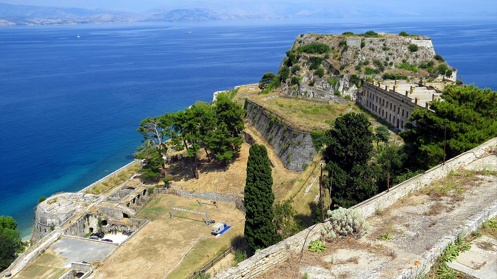 Corfu historical walking tour