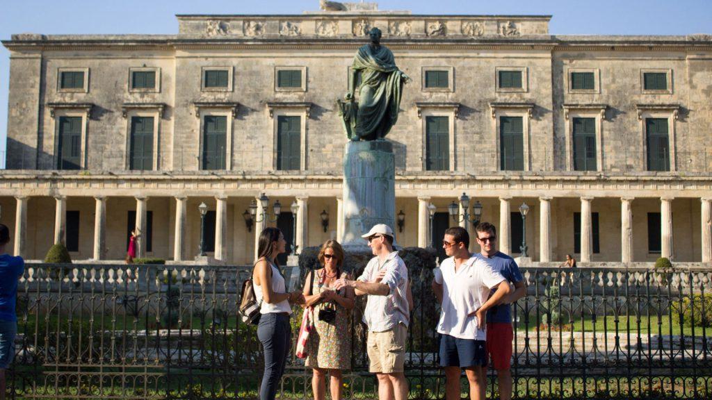 Corfu Historical Walking Tour