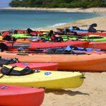 Sea kayaking in Crete