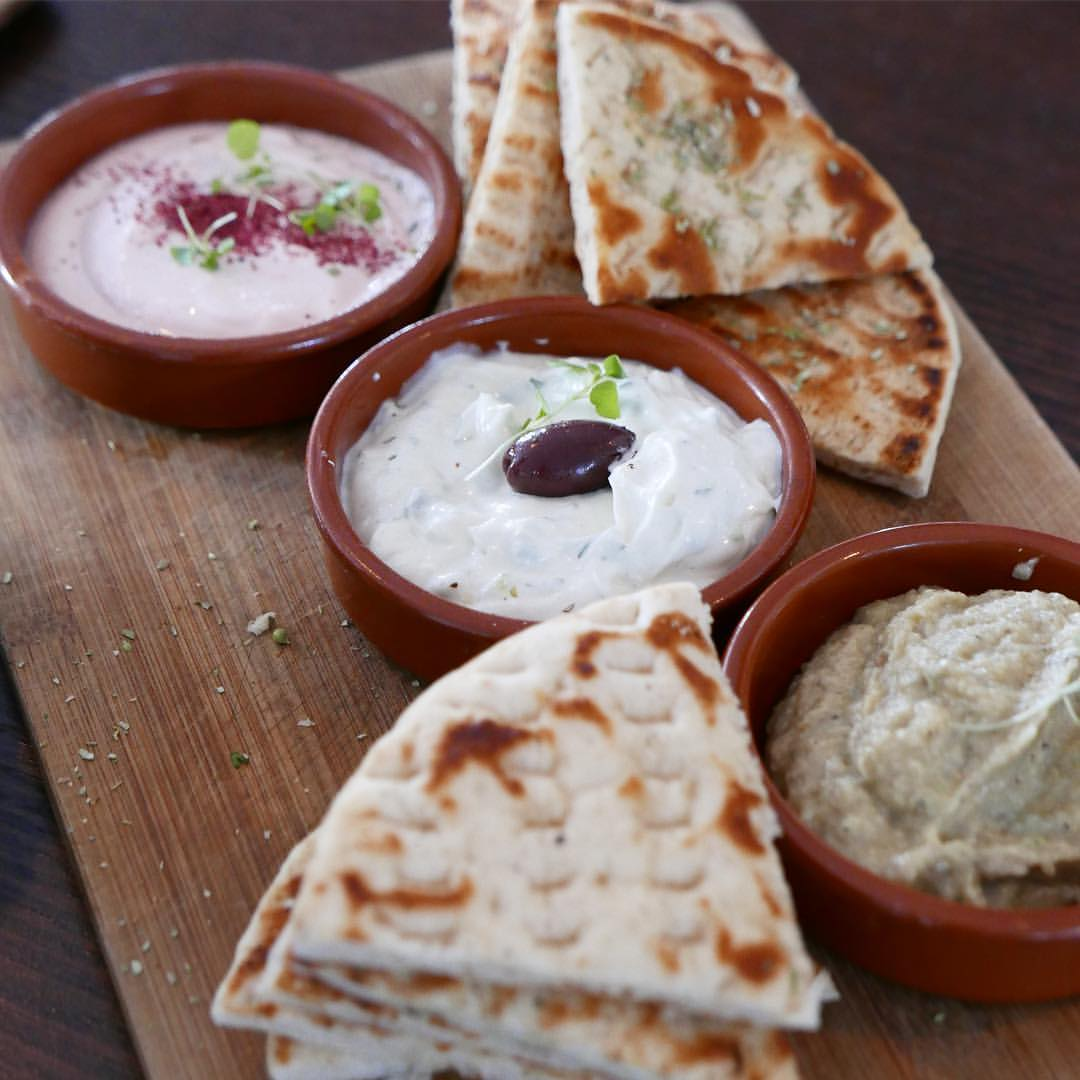 Greek dips to try in Athens
