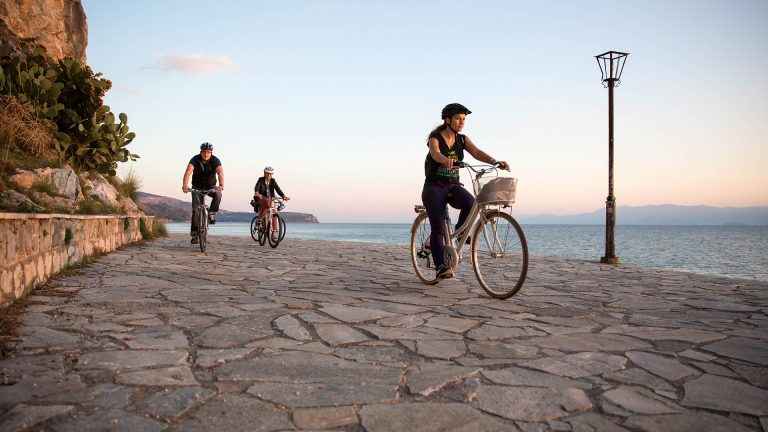 Cycling tour in Nafplio