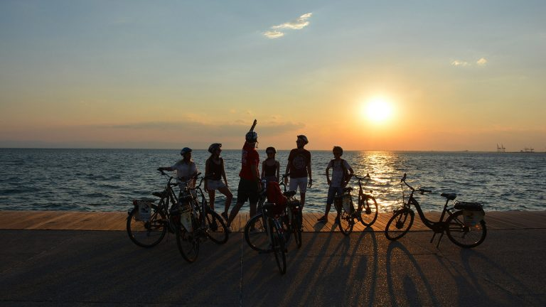 Thessaloniki Sunset Bike Tour