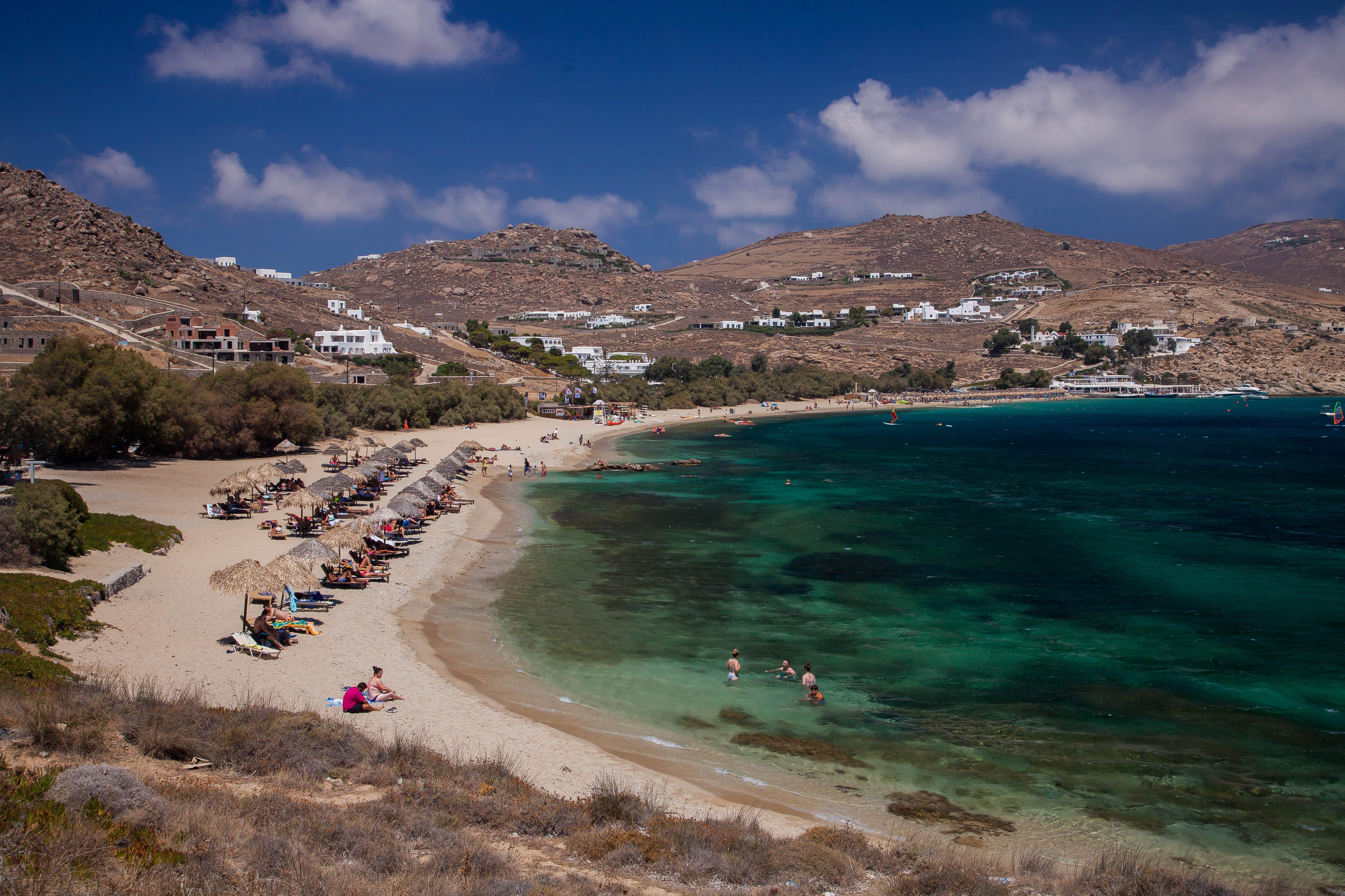 Mykonos southern beaches cruise