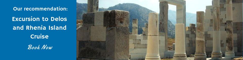 Excursion to Delos and Rhenia Island Cruise