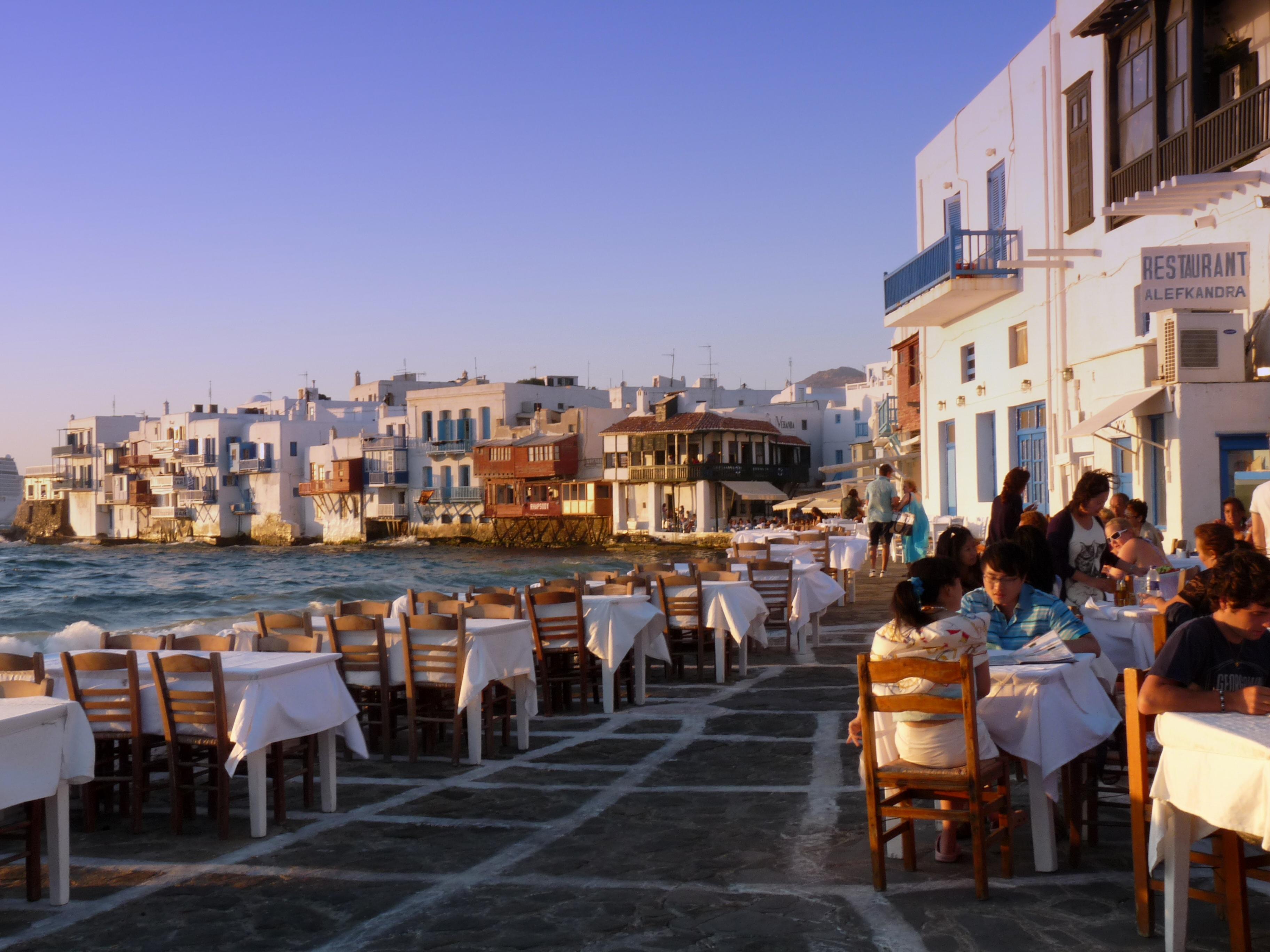 Old Port, Mykonos Town