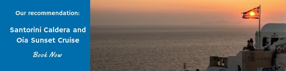 Santorini Caldera and Oia Sunset Cruise