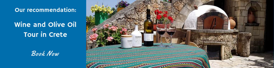Wine and Olive Oil Tour in Crete