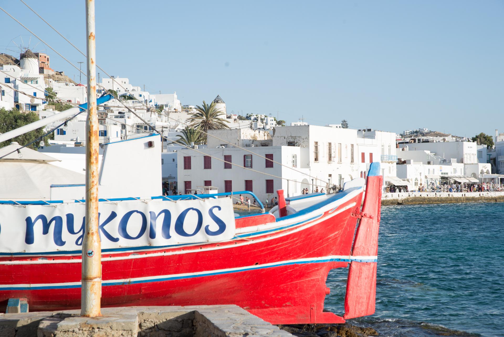 Mykonos 3 day itinerary