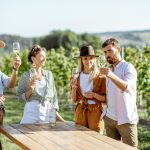 Experiential employee rewards wine tasting