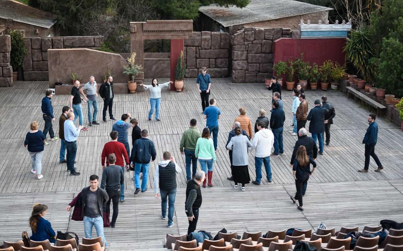 Experiential employee rewards zorba tour in athens
